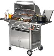Barbecue Texas 3 Gas Grill Inox - Sunday