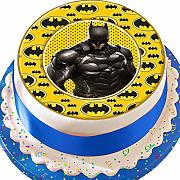 Batman logo Border Birthday pretagliato
