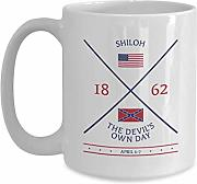 Battle of Shiloh Mug US Civil War Battlefield