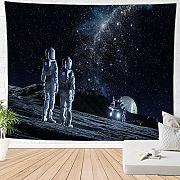 BBAGG Spazio Astronauta Tapestry Art Wall Tapestry