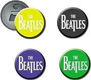 Beatles #1 - Set di 4 calamite per bottiglia e