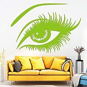 Beauty Eye Wall Art Decals Adesivi Murali per