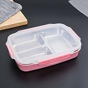 Bento box, lunch box in acciaio inox 304 con