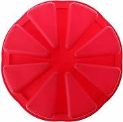 Besttse DIY silicone cake pizza Mold pan Chocolate
