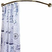 Everpert 20PCS asta per tenda doccia in acciaio INOX finestra clip anelli Drapery clip