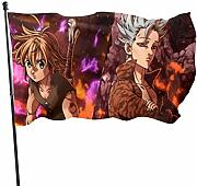 BHGYT Anime The Seven Deadly Sins Flag Bandiere