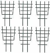 CZNDY 2pcs Sturdy Garden Supporto per Piante paletti,Gabbia per Piante di pomodori Piante Costruzione Stabile per Piante Rampicanti,Vaso per Piante rampicanti Montaggio Semplice
