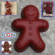 Birkmann - Stampo in silicone Gingerman mini cake