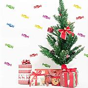 BLLXMX 3D Christmas Room Decoration Wall Stickers