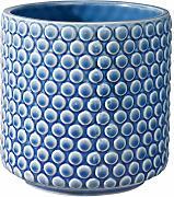 Bloomingville Blu in Gres Vaso da fiori