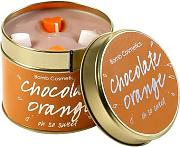 Bomb Cosmetics Candela Profumata Tin, Chocolate