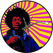 BottleClocks Iconic Jimi Hendrix vinile record