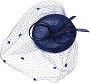 Bow mesh da sposa copricapo cappello canapa 561bcf3cb649
