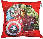 by PERLARARA - CUSCINO ARREDO cm 42 x 42 CAMERETTA ORIGINALE AVENGERS CIVIL WAR NOVIA by MARVEL (ROSSO)