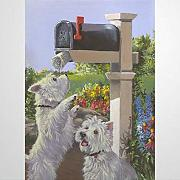 BYRON HOYLE West Highland Terrier We Got Mail