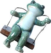 Cabilock Oscillante Frogs Figurine Statua in