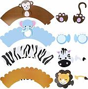 Cake Wrapper Animal Cupcake Liner Paper Cupcake