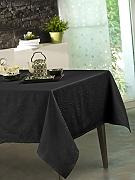 CALITEX Tovaglia Damassee Stacy Nero 150 x 300