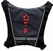CamKpell LED Turn Signal Light Riflettente Vest