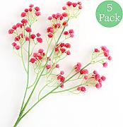CAN_Deal 5 Pezzi Fiori artificiali Gypsophila