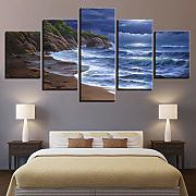 Canvas Living Room Wall Art Frame HD Stampa 5