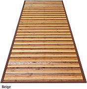 Naturale 50x100 cm. CASA TESSILE Bamboo Degrade Tappeto corsia Multiuso