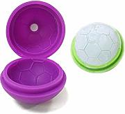 Casavidas 3D Football Shape silicone Ice Cube Tray