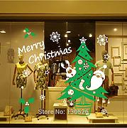 Cczxfcc New Merry Christmas Wall Stickers Albero