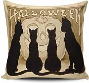 chipo Cushion Cover Halloween Strega Animale