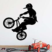 Ciclista Wall Sticker Pvc Wall Art Stickers Modern