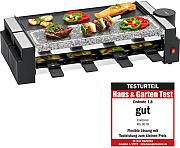 Clatronic RG 3678 2 in1 Raclette Grill e Pietra