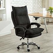Cloth-YG Reclining Office Chair con Schienale Alto