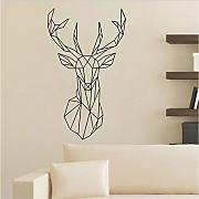 Cmdyz    Geometrydeer Wall Sticker Per Camera