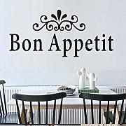 Cmdyz Dining Room Wall Decor Bon Appetit Adesivo