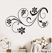 cmdyz Lovely Floral Design Fiori Wall Stickers per