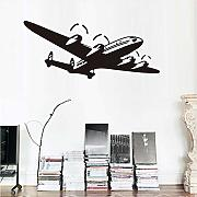 Cmdyz Sticker murale Cartoon Nursery Airplane