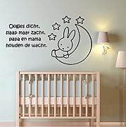 cmdzy Cute Rabbit Home Decor Wall Stickers per la