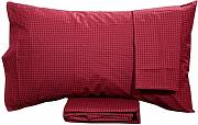Completo Letto in Percalle 2 Piazze ENNA BORDEAUX