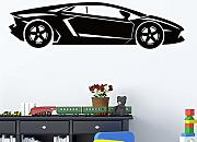 Cool Sports Car Wall Art Decal Wall Sticker Murale