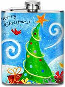 Creative Flagon,Merry-Christmas,vasetto da vino e