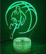 Creatività 3D Basket Night Light Lamp 7