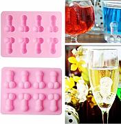 Creativo Ice Cubes Tray Silicone Ice Cream Stampi