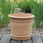 Creta in ceramica fatto a mano vaso in terracotta