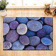 CUIMEISHEN Abstract Decor Colored Pebbles Vector