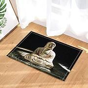 CUIMEISHEN Zen Decor Statue Buddha in Black per