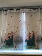 CURTAINS Frozen Fever Tenda in Voile Anelli 75 cm