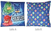 CUSCINO ARREDO cm 40x40 CAMERETTA ORIGINALE PJ MASKS by NOVIA (WE'RE ON OUR WAY)