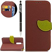 Custodia Nokia 5, Nokia 5 Flip Case Leather,