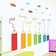 CVG Grande Vendita Coloful Pencil Crayon Wall