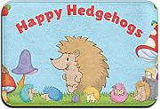 Cy-ril Happy Hedgehogs Family Tappetino Esterno in